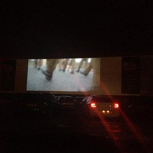 Movie at night