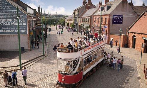 The award winning Town at Beamish