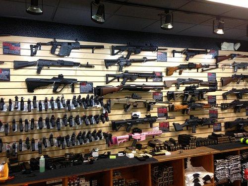 Large Selection of Guns