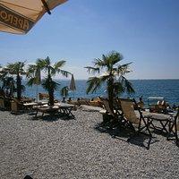 Panoramica alla spiaggia