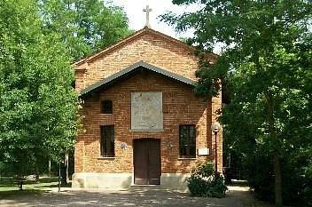 La cappella dopo i restauri, compiuti nel 1993.