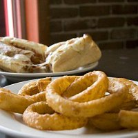 Cheesey Beef and Onion Rings