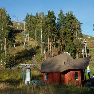Mielakka Ski Center in the summer