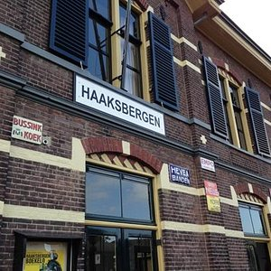 The former Haaksbergen railway station and presentday museum