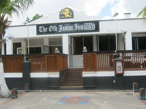 The Old Jamm Inn Entrance
