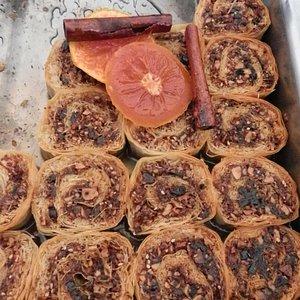 The mmost decadent Greek baklava ever!!!