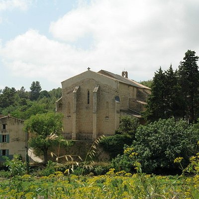The church from across the valley