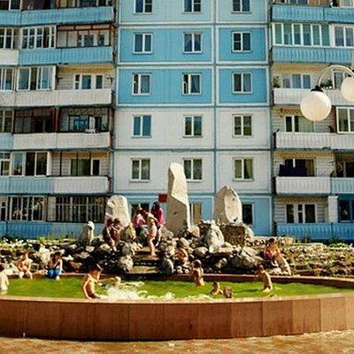 сквер камней в г. Горно-Алтайск