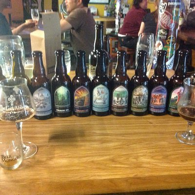 Small Lost Abbey tasting
