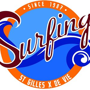 logo Surfing St Gilles