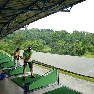 Driving Range at Green Fairways