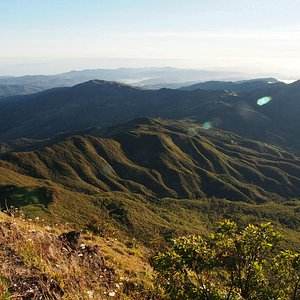Scenic view from top of Mt Ramelau