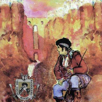 Primer Logotipo del Museo. Acuarela de Juan Antonio Rosado