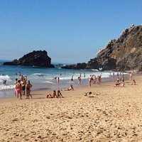 Amazing adraga beach