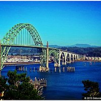Yaquina Bay Bridge © June 2013 Deborah Heldt Cordone