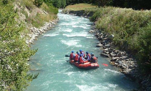 Rafting sur la Guisane (Briançon)