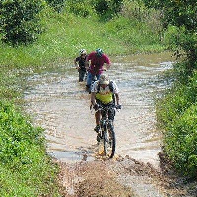 Rainy season ride