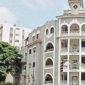 Parte frontal del edificio