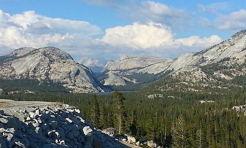 Tenaya Lake from Olmsted Point