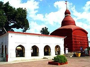 Right SIde view of the temple