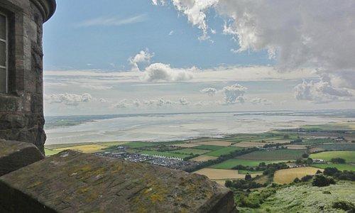 Vue sur Strangford Lough