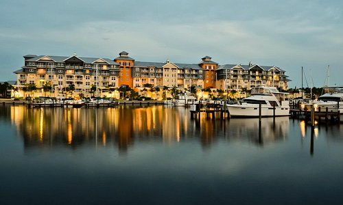 Harborside Suites From The Water