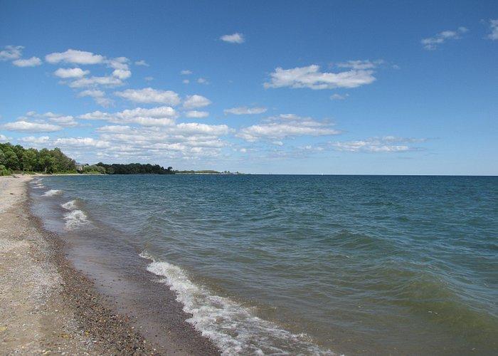 Les berges du Lac Ontario à Whitby
