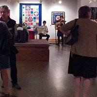 Exhibit openings are usually on Thursday evenings