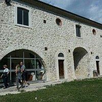 Museo della Transumanza, facciata posteriore.