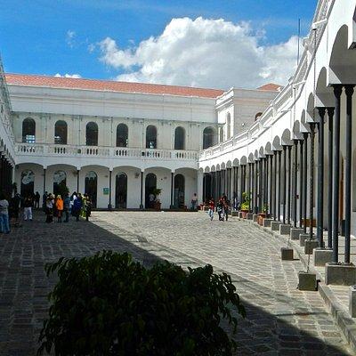 Interior courtyard, Museum of Modern Art