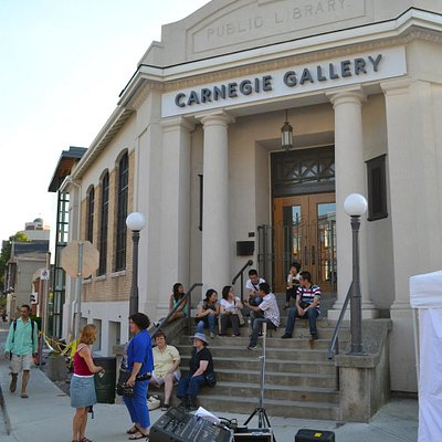 Carnegie Gallery Entrance