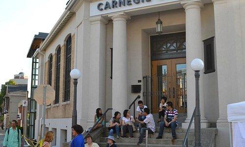 Carnegie Gallery Entrance