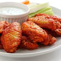 Juciy Hot And Spicy Chicken Wings
