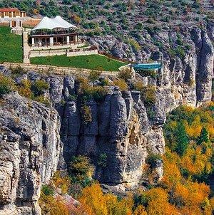 Crystal Terrace in Tokatli Canyon-Karabuk/Turkey