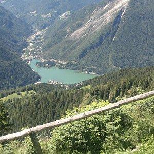 Lago visto dal Monte Fertazza