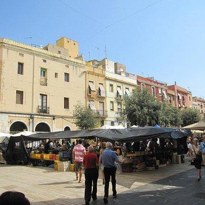 Animación en el Casco Antiguo de Tarragona