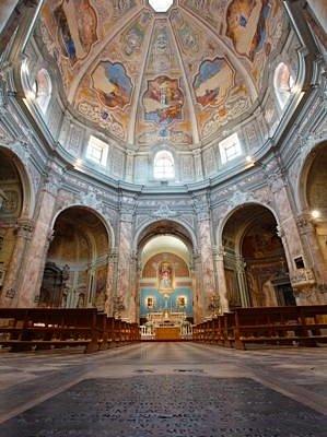 Chiesa S. Caterina Livorno Affreschi