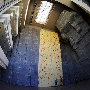 Main climbing hall