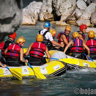 Rafting on Soca