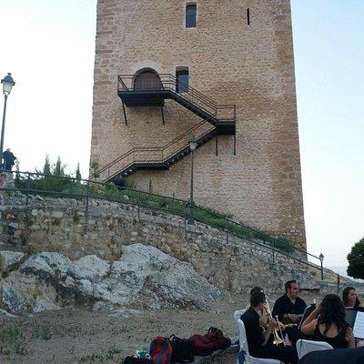 Imagen desde el interior del castillo