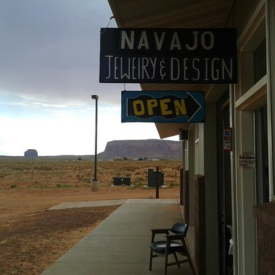 Etrance to Navajo Jewelry and Design Store