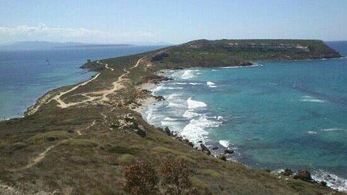 penisola del sinis - spiaggia di San Giovanni vista dalla Torre