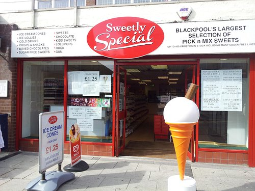 Blackpool's largest selection of Pick n Mix sweets