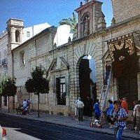 fachada convento Ntra. Señora de los Remedios