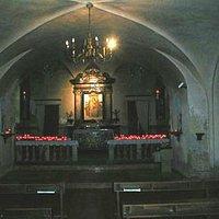 La chiesa inferiore.