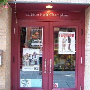 Théâtre Petit Champlain, 68, rue du Petit Champlain