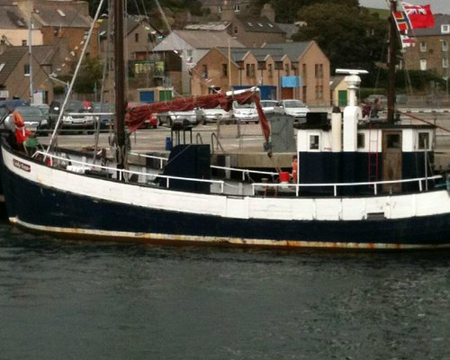 The Lady Rose at Stromness Harbour