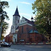 Kościół św. Mateusza w Pabianicach.