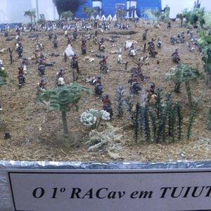 Maquete Batalha Tuiuti
