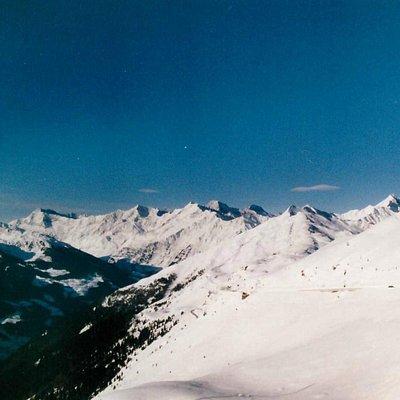 Panorama dal Passo Giovo